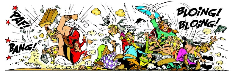 Asterix - Copyright Egmont Ehapa Media