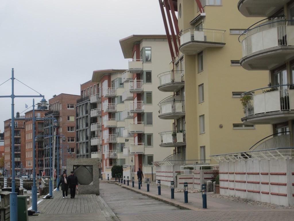Eriksberg, der aufstrebende Stadtteil in Göteborg